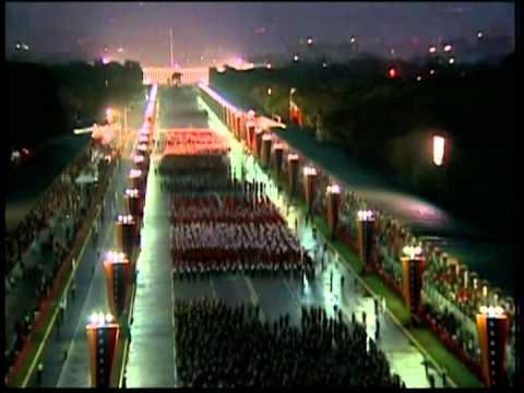 Desfile Militar del 19 de Abril de 2013 con el Presidente venezolano Nicolás Maduro