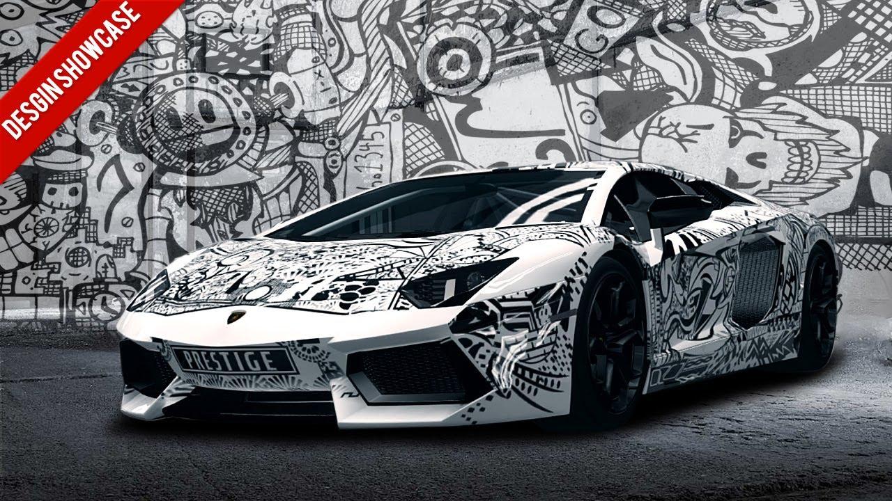 Forza Horizon Design Showcase Sharpie Lambo Feat