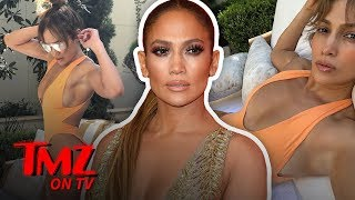 JLo Shares Some Sexy Pics With The World   TMZ TV