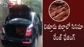 Police Caught Red Sandalwood Smugglers In Chittoor Dist
