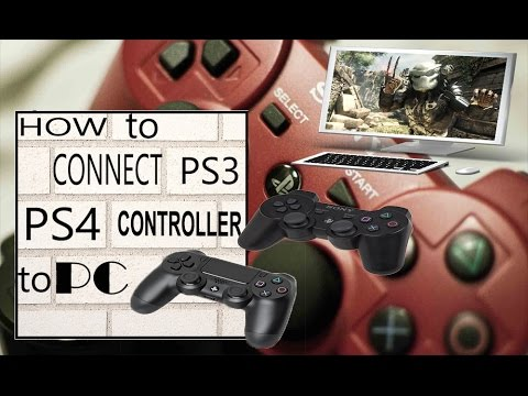 How To Connect PS4 or PS3 Controller to PC 2014 (No Motioninjoy Required)