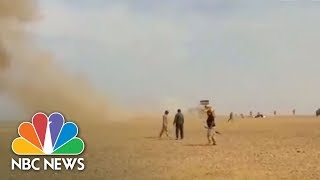 U.S. Airstrike Targets Pro-Assad Forces In Syria | NBC News