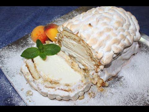 Торт с мороженым внутри «АЛЯСКА»