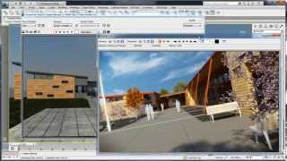 3ds Max Design 2014 Interoperability with AutoCAD and Revit