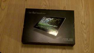 Asus Eee Pad Transformer Unboxing