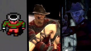 Freddy Krueger: Evolution in Games (1989-2017)