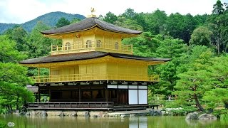 [The Golden Tea Pavilion- Kinkakuji] Video