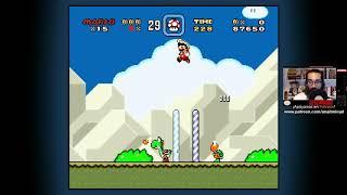 AnaitGames en directo: Super Mario World (Primera parte)