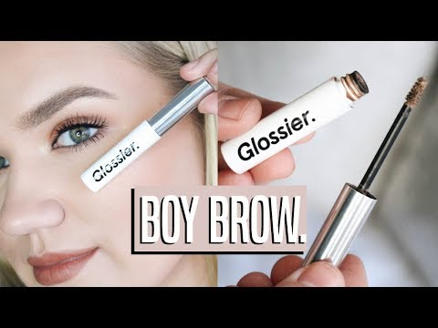 GLOSSIER BOY BROW ROUTINE / NATURAL BROWS