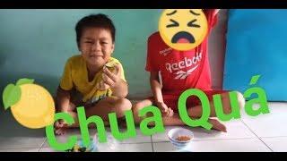 Thử thách #1: Ăn chanh Chua - và cái kết (T.V Team Chanel)