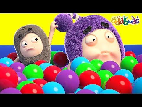 Oddbods   BALL PIT PRANK   NEW EPISODES OF ODDBODS   Funny Cartoons For Children