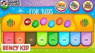 Trò Chơi Bé Học Đánh Đàn Piano -  Game Piano For Kid