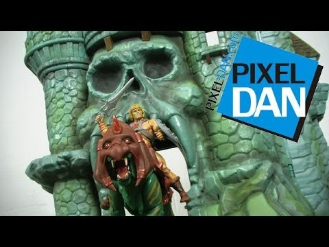 Masters of the Universe Classics Castle Grayskull Playset Video Review