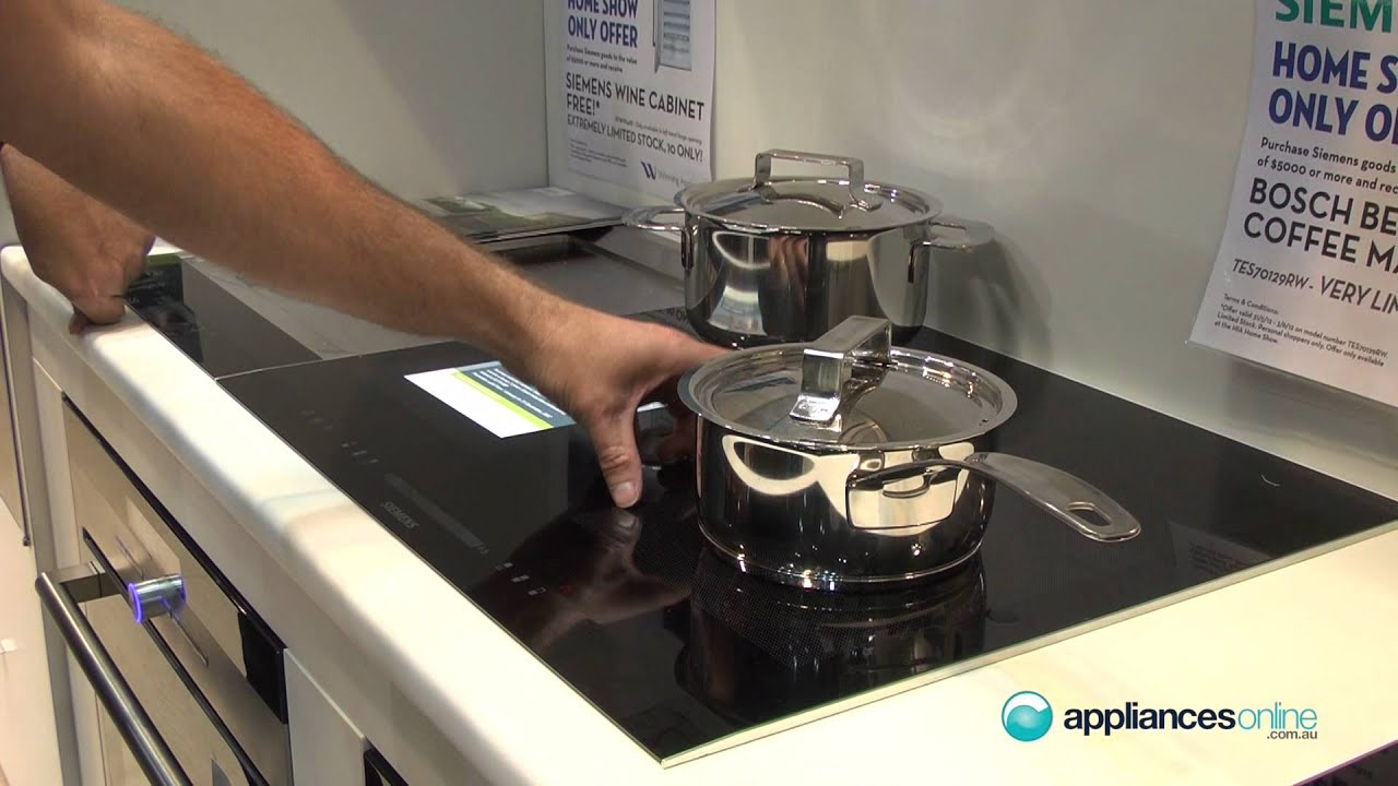 Adjustable Flexinduction Cooktop From German Appliance