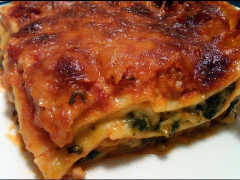 How to make VEGETARIAN LASAGNA Video Recipe