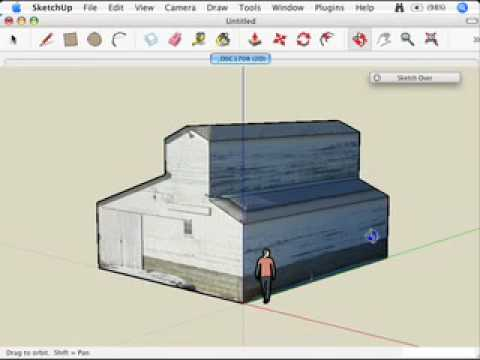 SketchUp: Modeling with Photo Match