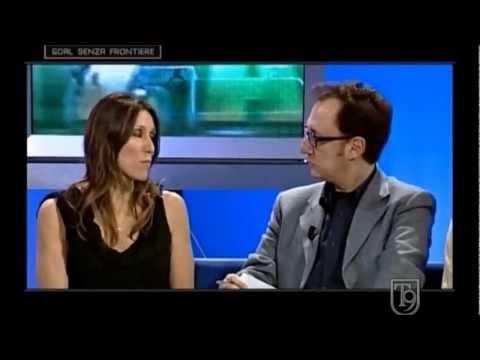 """Cristina Chiuso intervistata da Gianluca Guarnieri a """"Goal Senza Frontiere"""" il 24/4/2012"""