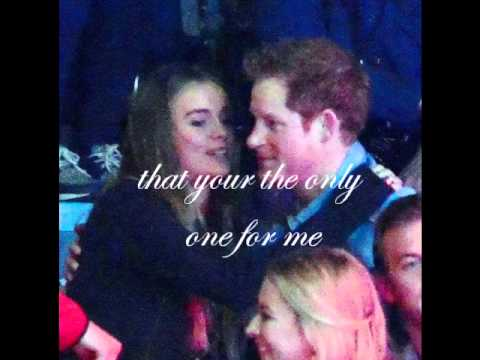 Prince Harry and Cressida Bonas Stickwitu