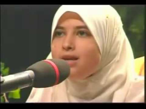 Best Female Quran Reciter, Sumayya Eddeeb: Reciting Surat Al-fajr video