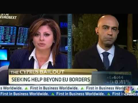 Will Cyprus Go Bankrupt? Dr Theocharides on CNBC
