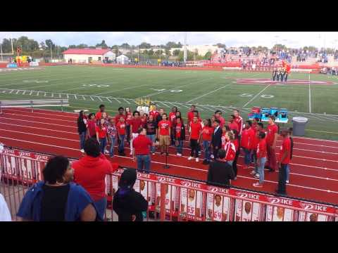 Pike Encores Homecoming National Anthem 2015