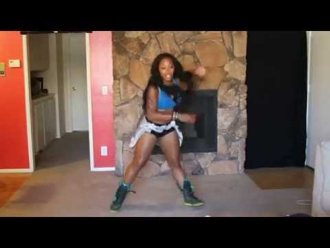 Zumba Inspired FUN LATIN SOCA DANCE WORKOUT (Keaira LaShae)