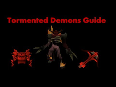 Tormented Demons Guide EoC Runescape 2013 – Melee and Range Setup and Luring Spots