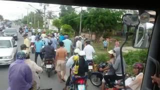 Bạc liêu Giang hồ:chặn xe và cái kết