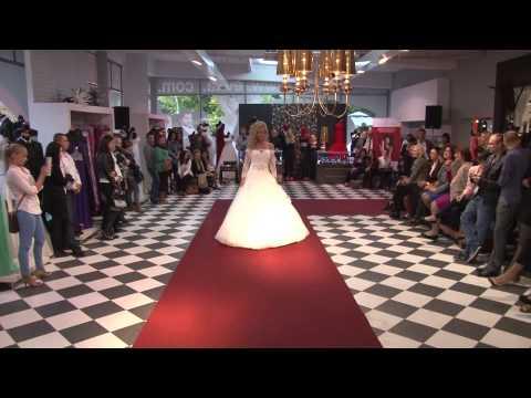 Suknie ślubne 2014 - pokaz mody ślubnej i wieczorowej salonów mody EVITA