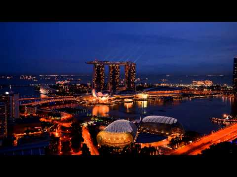 D600 Time-Lapse Sample6, Marina Bay Sands Hotel, Singapore