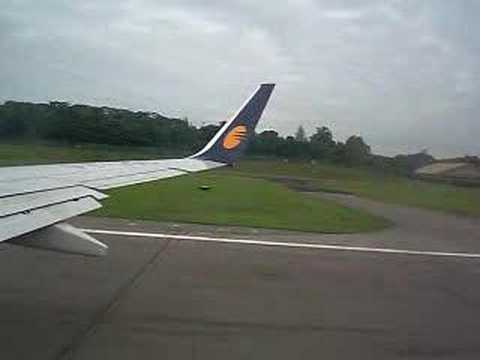 jet airways take off from singapore- chennai
