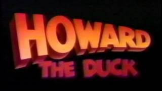 August 1986 - TV Trailer for 'Howard The Duck'