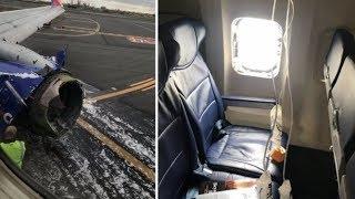 Vybuchl motor a nastala panika: Ženu při děsivé nehodě letadla vysálookno!