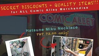 Comic Alley: Biggest Anime Store in the Philippines