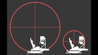 2DOF motion simulator with a very high center of rotation.