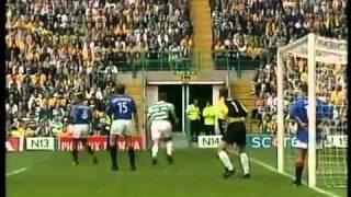 Celtic 6 - 2 Rangers.