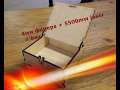 Trial Cutting Plywood 4 Mm 5500mw Laser Creating Boxes mp3