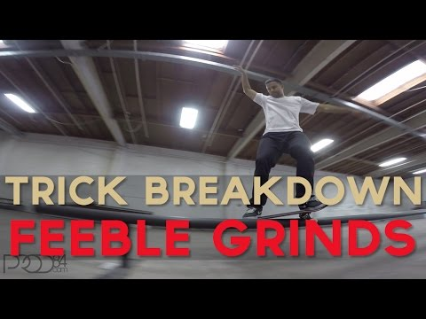 Paul Rodriguez l Trick Breakdown l Feeble Grind