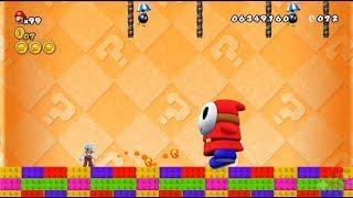 New Super Mario All Stars HD: Super Mario Bros 2 REMAKE 100% Mundo 3