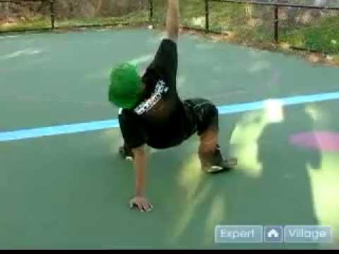 Bagaimana cara melakukan breakdance air swipes panduan.FLV