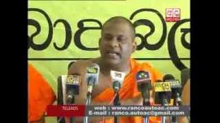 Bodu Bala Sena responds to accusations from Wimal