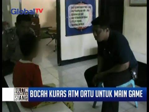 Ketagihan Game Online, Anak 12 Tahun Nekat Kuras ATM Orang Tuanya Sebanyak Rp 13 Juta - BIS 20/11