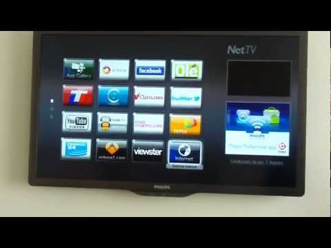 Demostración del televisor Smart TV de Philips Parte 1