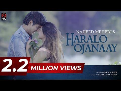 Haralo Ojanaay   Musical Film   Naheed Mehedi   Adit   Sporshia   Tawsif  Bangla New Song 2017