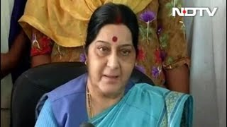 39 Indians, Missing In Iraq, Likely Jailed In Badush: Sushma Swaraj
