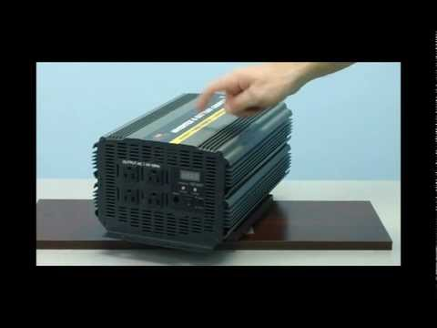 3000 Watt Power Inverter - Built-in Charger and Transfer Switch - Royal Power - (PIC-3000)