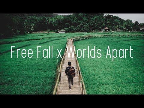 Illenium x Seven Lions - Free Fall x Worlds Apart (Lyrics)