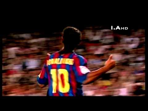 Ronaldinho Samba - Barcelona - HD