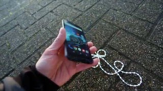 Motorola Droid Turbo 2 Drop Test - FROM 275 METERS! - World's strongest phone? (Moto X Force)