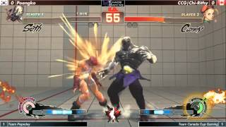 USF4, Team Pepeday vs Team Canada Cup Gaming Canada Cup 2014